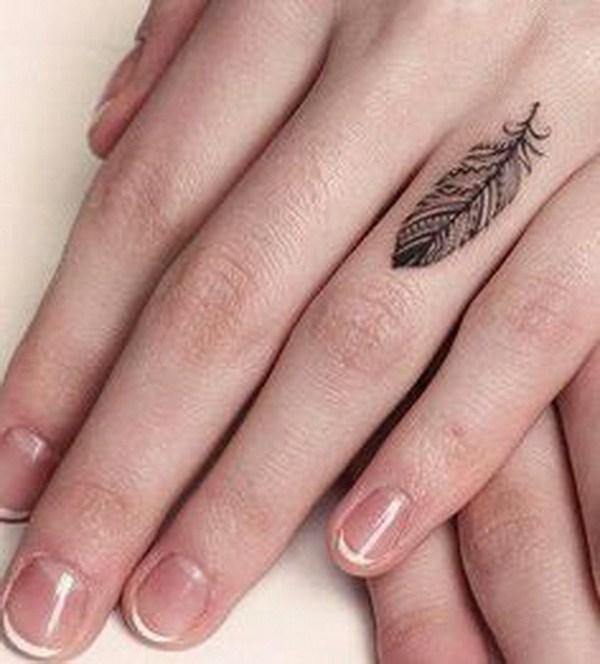 50 Hermosos Tatuajes De Dedos Para Mujeres Largo Peinados