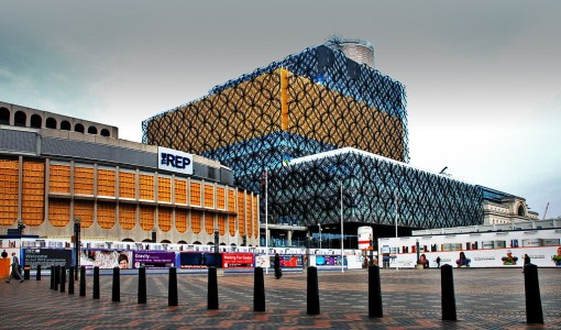 Birmingham Library and the Rep