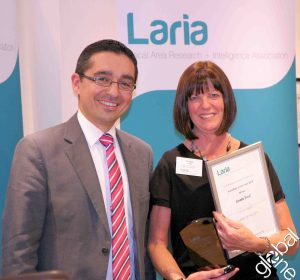 Linda Frost, Manchester City Council (LARIA NW Region): Winner of Volunteer of the year