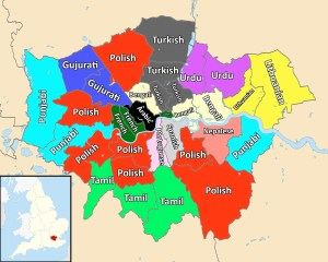Second languages in London