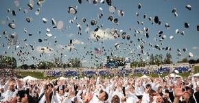 US Naval Academy Class Graduation 2012