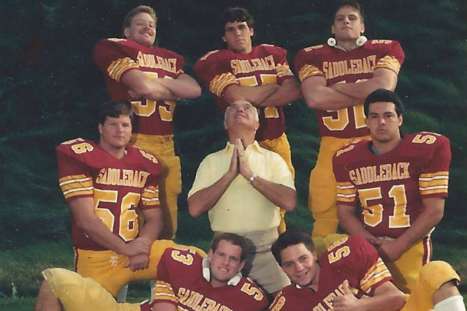 Saddleback College Gaucho linebackers 1987