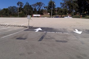Overflow parking, approved last year by the Associated Student Government, has been added to Lot 9 near College Drive Entrance.