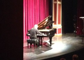 Pianist Eduardo Delgado, a professor at the School of Music at Cal State Fullerton and recipient of the Vladimir Horowitz Award, performed at the McKinney Theatre. (Photo courtesy of Nina Welsh)