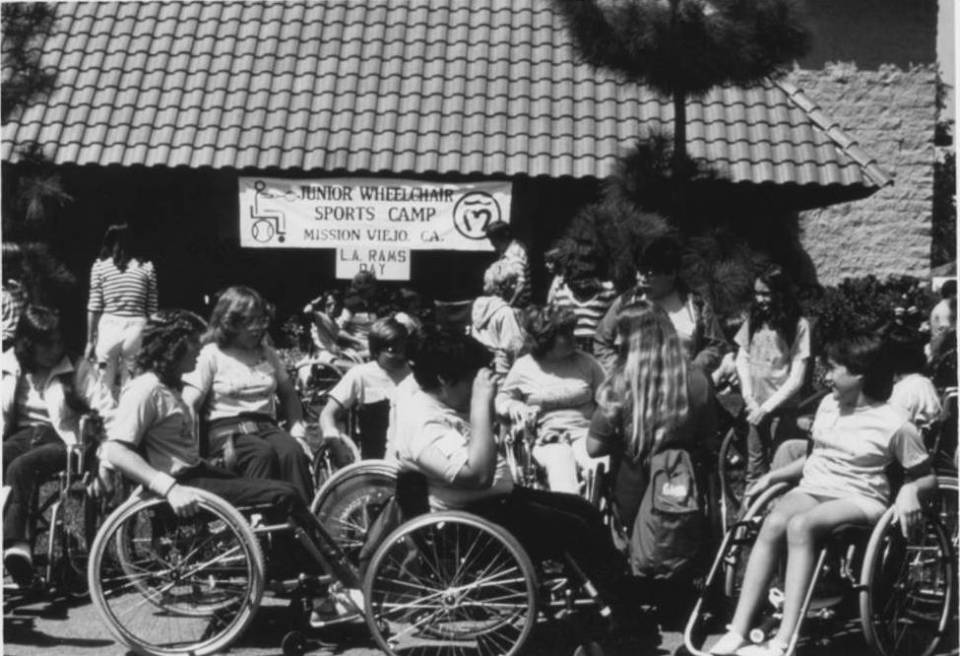 The first wheelchair camp started in 1980 at Saddleback College teaming up in a partnership with the city of Mission Viejo. (Photograph/Courtesy of Steven Bell)