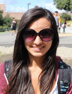 """I think it is a Hispanic cowboy."" (Olivia Morales, 18, communications)"