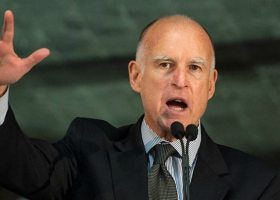 """Governor Jerry Brown has helped sign into law a number of notable anti-sexual assault bills such as the """"yes means yes"""" law in 2009. (NASA HQ/Creative Commons)"""