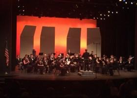 Big Band lights up stage with jazz classics and other jazz genres. (Kseniya Taranyuk/Lariat)