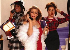 """Stacey Dash as Dionne Davenport, Alicia Silverstone as Cher Horowitz and Brittany Murphy as Tai in """"Clueless."""" (Paramount Pictures)"""