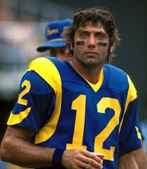 Los Angeles Rams quarterback, Joe Willy Namath