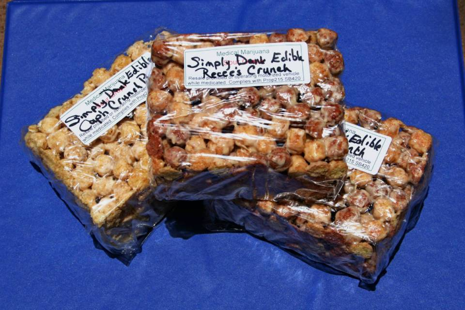 Edibles like these cereal bars will be served in the cafeteria starting April 10th. (Eggrole/CC by 20)