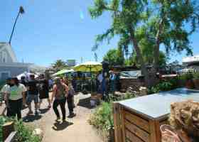 San Juan Capistrano's Eco-Center holds the Grow Your Own event on April 16, with multiple tables set up displaying how take proper care of personal gardens (Betsy Johnson/ Photo Editor)