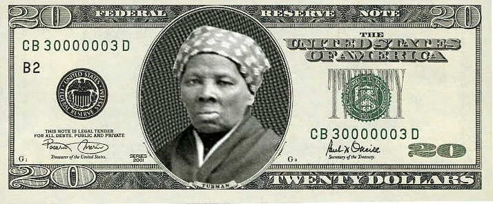 Harriet Tubman will be on the U.S. $20 Bill
