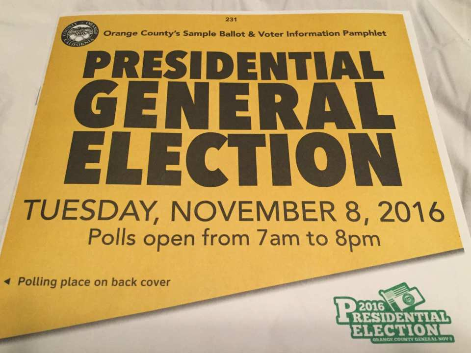 Sample ballots were recently sent out to all registered voters. (Mackenzie Quinn / Lariat)