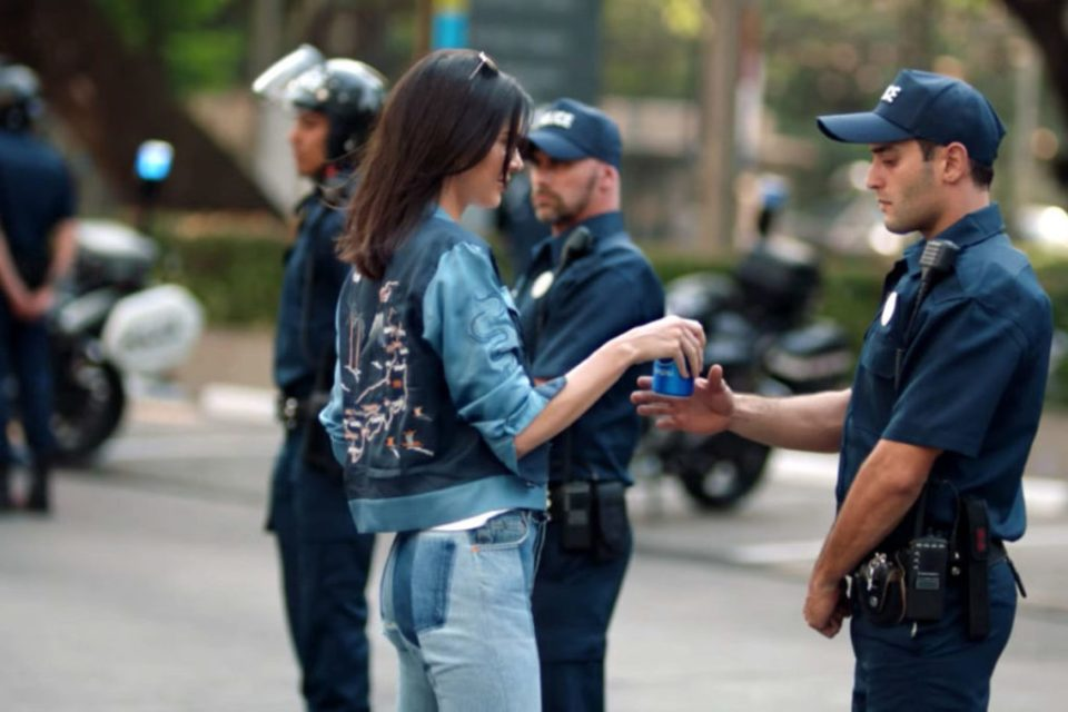 Pepsi ad with Kendall Jenner