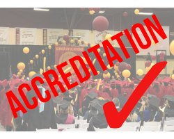Saddleback College is currently renewing its accreditation status. (Photo illustration/Colin Reef)