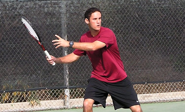 Jeffrey Gelman is a native Hawaiian. He lettered in tennis at Kealakehe High School before graduating in 2012.  While at KHS, he finished third in the state in doubles play. (Courtesy of Saddleback Athletics)
