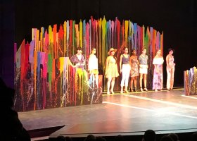 Categories in the 12 annual fashion show at Saddleback College included Corset, Ready-to-Wear, Evening Wear, Non-Textiles, and Costumes. (Paula Reible/PRT Creative)