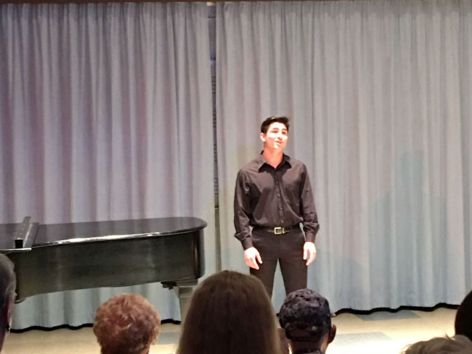 """Brandon Rashtian performs """"Younger than Springtime"""" from South Pacific composed by Oscar Hammerstein II (Colin Reef/Lariat)"""