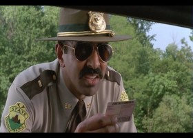 """Super Troopers 2"" director Jay Chandrasekhar in ""Super Troopers."" (Broken Lizard)"