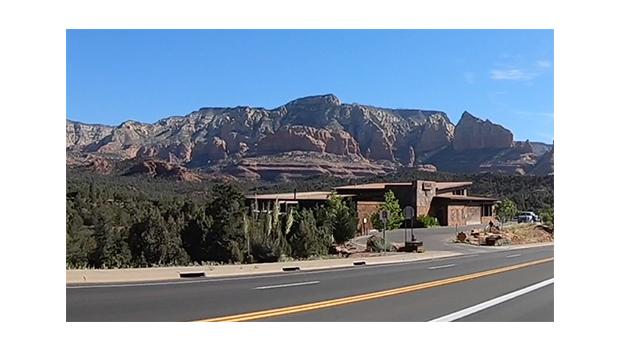 Scott Fredrickson reaches the outside of Sedona, Arizona on his first night. (Scott Fredrickson)