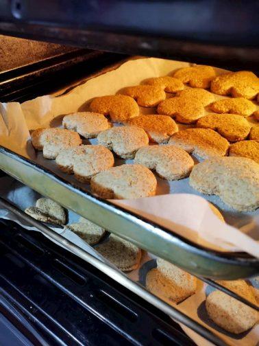 I biscotti integrali bio al forno