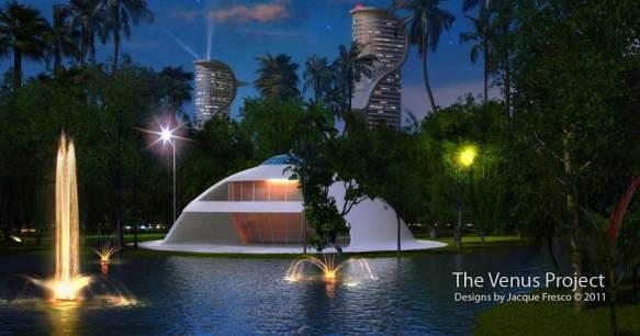 Casa a cupola del Venus Project