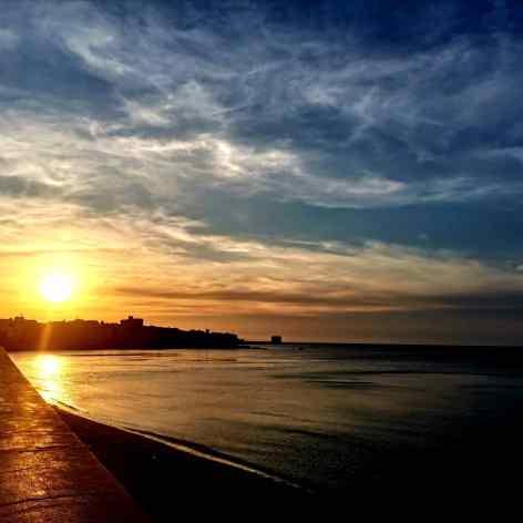Cosa visitare a trapani, un tramonto sulla città