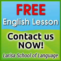 Schedule your free trial English lesson today!