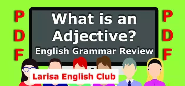 English Grammar Adjective PDF