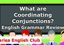 What are Coordinating Conjunctions PDF