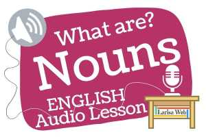 What is a Noun? Grammar Review English lessons are free!