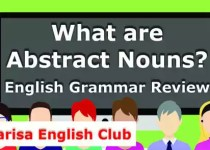 What are Abstract Nouns PDF