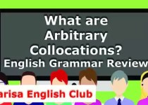 What are Arbitrary Collocations PDF