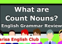 What are Count Nouns Audio