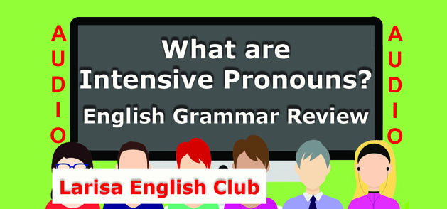 What are Intensive Pronouns Audio