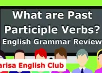 What are Past Participle Verbs PDF