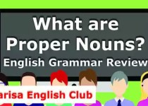 What are Proper Nouns PDF
