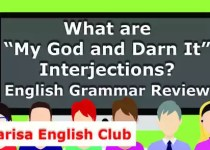 """What are """"My God and Darn It"""" Interjections PDF"""