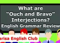 """What are """"Ouch and Bravo"""" Interjections PDF"""