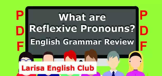 What are Reflexive Pronouns PDF