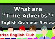 What are Time Adverbs PDF
