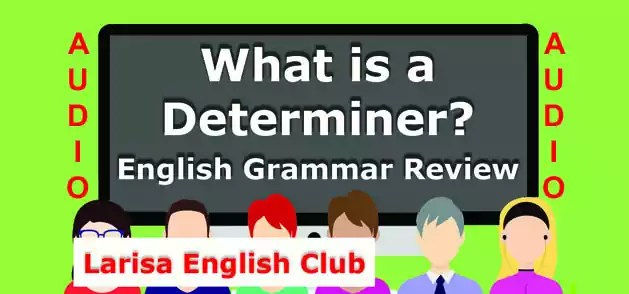 What is a Determiner Audio
