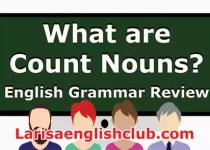 LEC What are Count Nouns Video