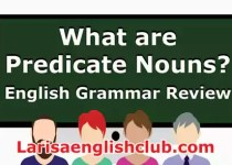 LEC What are Predicate Nouns Video