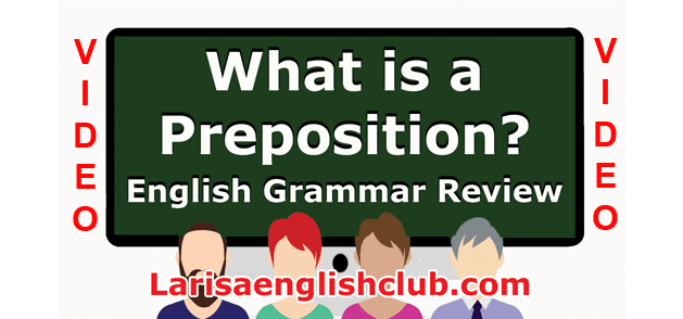 LEC What is a Preposition Video