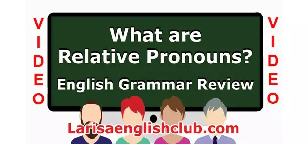 LEC What are Relative Pronouns