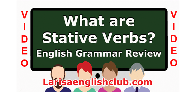 LEC What are Stative Verbs