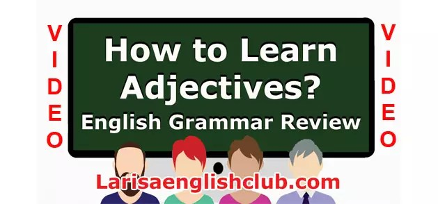 LEC How To Learn Adjectives