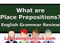 LEC What are Place Prepositions